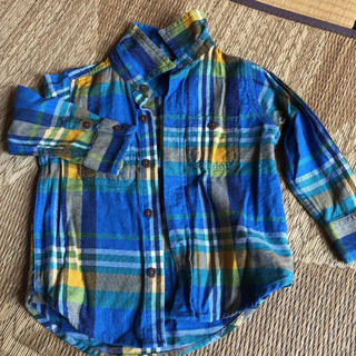 ギャップ(GAP)のギャップチェックシャツ18〜24m(シャツ/カットソー)
