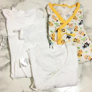 ニシマツヤ(西松屋)の新生児 50〜60 肌着セット アンパンマン(肌着/下着)