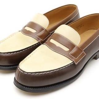 ジェーエムウエストン(J.M. WESTON)のJ.M.Weston 180 バイカラー ローファー 3 D JM ウエストン(ローファー/革靴)