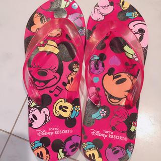 ディズニー(Disney)のディズニーランドで購入✩.*˚ミッキーミニービーチサンダル24cmビーサン(ビーチサンダル)