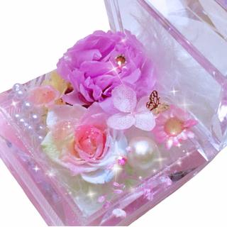 ベビードール(BABYDOLL)のパステルレインボーローズプリザーブドフラワー・世界一小さなお花畑アレンジメント(プリザーブドフラワー)