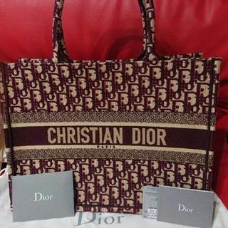 クリスチャンディオール(Christian Dior)の本物 Christian Dior 新品 ディオール ブックトート ミニ(トートバッグ)