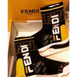 フェンディ(FENDI)のFENDI FILA スニーカーブーツ(スニーカー)