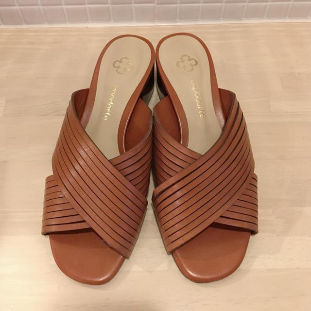PAPILLONNER(パピヨネ)のpapillonner♡スペイン製ミュール レディースの靴/シューズ(サンダル)の商品写真