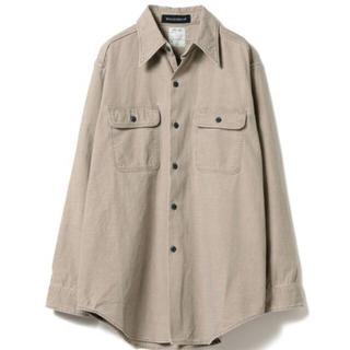 マディソンブルー(MADISONBLUE)の【マディソンブルー】ハンプトン バックサテンシャツ 01(シャツ/ブラウス(長袖/七分))
