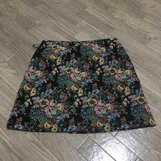 GU - ゴブラン織風スカート