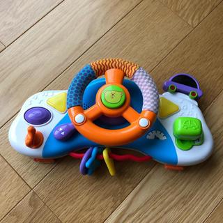 トイザラス(トイザらス)のベビーカー ハンドル おもちゃ ブルーイン(ベビーカー用アクセサリー)