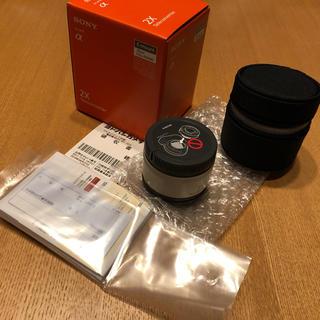 ソニー(SONY)の美品 Sony SEL20TC テレコンバーター x2.0(その他)