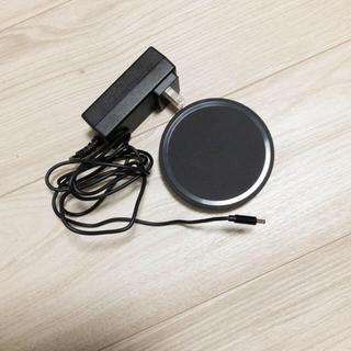 アップル(Apple)の【BELKIN】BOOST UP ワイヤレス充電器 ミッドナイトブラック(バッテリー/充電器)