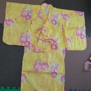 ユニクロ(UNIQLO)のこども浴衣 110(甚平/浴衣)