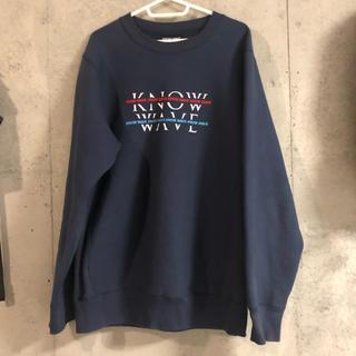 シュプリーム(Supreme)のKnow wave トレーナー(スウェット)