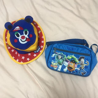 ディズニー(Disney)の保育園 幼稚園 帽子 鞄 トイストーリー(通園バッグ)