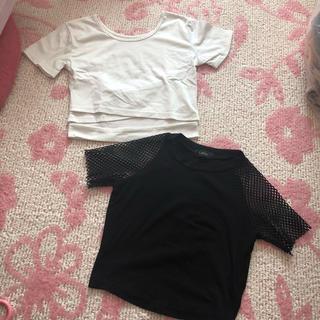 アナップラティーナ(ANAP Latina)のTシャツ ヘソ出し 肩透け ラティーナ LATINA(Tシャツ(半袖/袖なし))