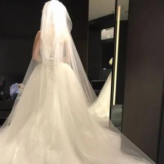 ヴェラウォン(Vera Wang)のverawangロング三段ベール(ヘッドドレス/ドレス)