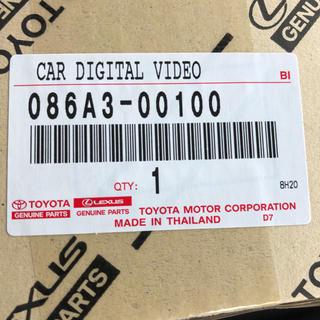 トヨタ(トヨタ)のトヨタ純正ドライブレコーダー DRD-C68(カーナビ/カーテレビ)