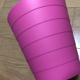 IKEA FNISS ゴミ箱 ピンク