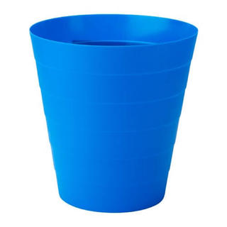 IKEA FNISS ゴミ箱 ブルー