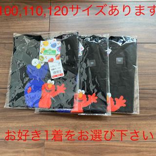 セサミストリート(SESAME STREET)の【新品未使用】UNIQLO × kaws × セサミストリート キッズTシャツ(Tシャツ/カットソー)
