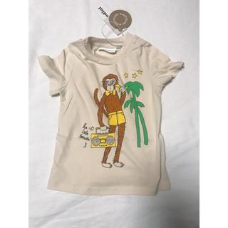 キャラメルベビー&チャイルド(Caramel baby&child )のセール 即納 2019ss minirodini 半袖tee 猿柄(Tシャツ)