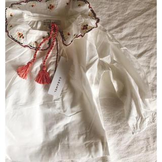 キャラメルベビー&チャイルド(Caramel baby&child )の即納 キャラメル ブラウス 刺繍(ブラウス)