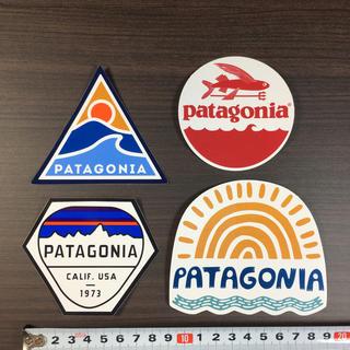 パタゴニア(patagonia)のパタゴニアステッカー 4点 ⁑ トラウト フィツロイ 波 太陽(登山用品)