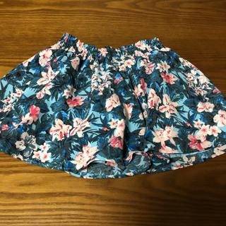 ジーユー(GU)のジーユー 花柄スカート キュロット(スカート)