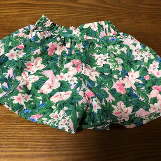GU - ジーユー 花柄スカート キュロット