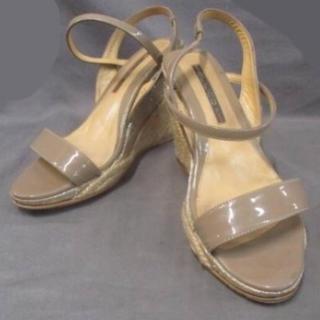 ペリーコ(PELLICO)のペリーコ PELLICO 靴 サンダル 35 イタリア製 ウェッジソール(サンダル)