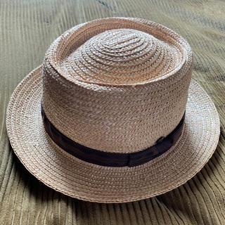アングリッド(Ungrid)のUngrid リボンカンカン帽 ハット(麦わら帽子/ストローハット)