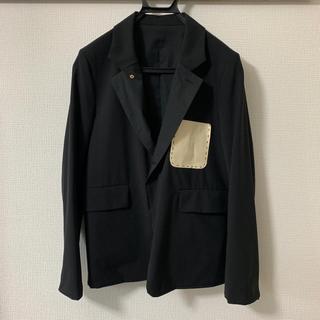 SUNSEA -  SUNSEA 16SS Reversible SNM-G-Jacket 黒