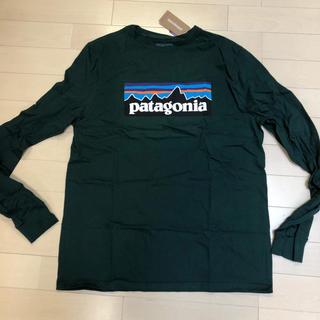 パタゴニア(patagonia)のpatagonia  パタゴニア ロゴ ロンT ボーイズ xxl(Tシャツ/カットソー)