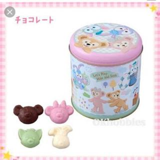 ダッフィー(ダッフィー)の新品未開封 ダッフィーフレンズ かくれんぼ チョコレート(菓子/デザート)
