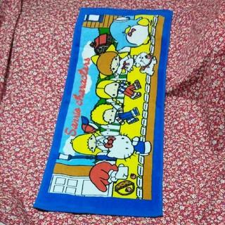 サンリオ(サンリオ)のキティーちゃんとその仲間たちのタオル新品♪♪とキティーちゃんのてつきコップ新品(タオル)