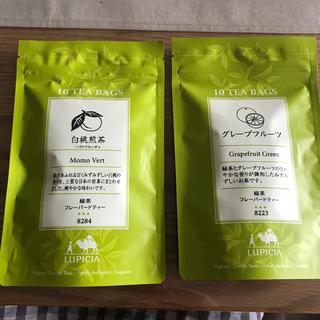 ルピシア(LUPICIA)のルピシア 白桃煎茶・グレープフルーツ緑茶(茶)