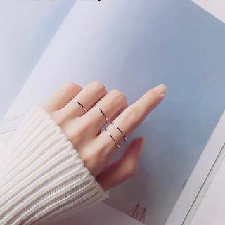 216 再入荷ステンレスリング シンプル 華奢  可愛い アレルギー 指輪 (リング(指輪))