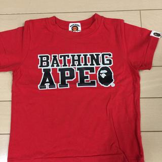 アベイシングエイプ(A BATHING APE)のエイプTシャツ(Tシャツ/カットソー)