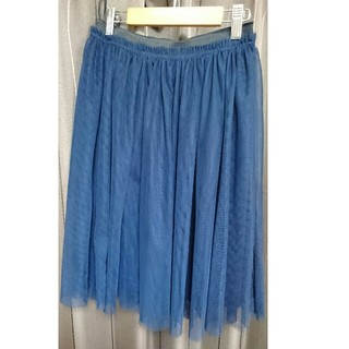 ベルメゾン(ベルメゾン)の千趣会 チュールスカート(ひざ丈スカート)