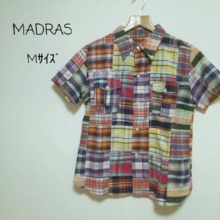 マドラス(madras)のMサイズ【MADRAS】(シャツ/ブラウス(半袖/袖なし))