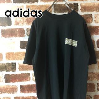 アディダス(adidas)の[ adidas ]アディダス トレフォイル 黒 Tシャツ 胸ロゴ(Tシャツ/カットソー(半袖/袖なし))