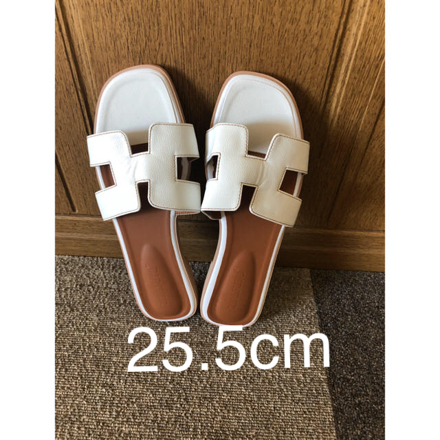 Hサンダル 25.5センチ レディースの靴/シューズ(サンダル)の商品写真