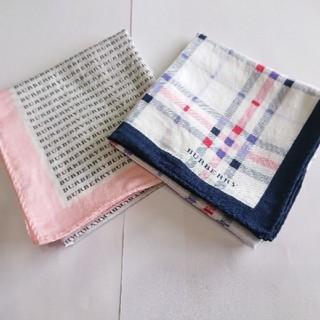 バーバリー(BURBERRY)のBURBERRY スカーフ2枚セット(バンダナ/スカーフ)