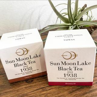 ディーンアンドデルーカ(DEAN & DELUCA)のsun moon lake black tea❤️台湾の香り高い紅茶☕️二箱(茶)