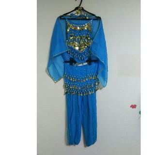 キッズ120cmジャスミン 衣装 コスプレ ベリーダンス(衣装一式)