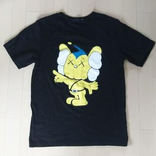 メディコムトイ(MEDICOM TOY)のメディコムトイ オリジナルフェイク kaws Tシャツ サイズL(Tシャツ/カットソー(半袖/袖なし))