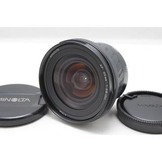 KONICA MINOLTA - ミノルタ AF 20mm F2.8 NEW