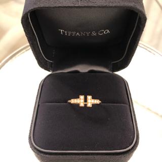ティファニー(Tiffany & Co.)の【美品】ティファニー Tリング(リング(指輪))