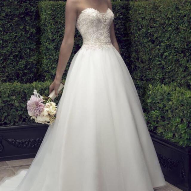 Vera Wang(ヴェラウォン)のCasablanca Bridal ウェディングドレス レディースのフォーマル/ドレス(ウェディングドレス)の商品写真