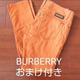 バーバリー(BURBERRY)のBURBERRY スキニーパンツ38(カジュアルパンツ)