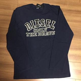ディーゼル(DIESEL)のディーゼル 長袖Tシャツ 16Y ネイビー(Tシャツ/カットソー(七分/長袖))
