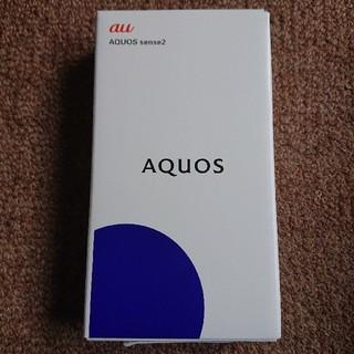 1f5afbb815 シャープ(SHARP)の新品 AQUOS sense2 SHV43 ニュアンスブラック SIMフリー(スマートフォン本体